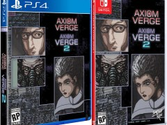 axiom verge 1 2 double pack standard edition physical retail release limited run games playstation 4 nintendo switch cover www.limitedgamenews.com