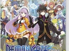 demon gaze extra physical retail release asia english multi-language release nintendo switch cover www.limitedgamenews.com