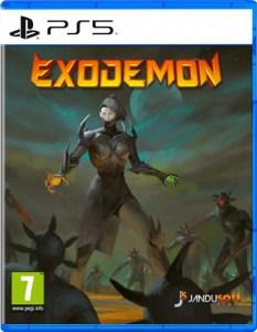 exodemon physical retail release jandusoft playstation 5 cover www.limitedgamenews.com