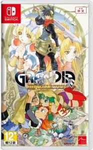 grandia hd collection physical retail release asia english mutli-language nintendo switch cover www.limitedgamenews.com