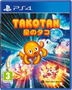 takotan physical retail release red art games playstation 4 cover www.limitedgamenews.com