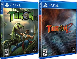 turok turok 2 seeds of evil remastered standard edition physical retail release limited run games playstation 4 cover www.limitedgamenews.com