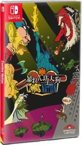 abarenbo tengu zombie nation standard edition physical retail release nintendo switch cover www.limitedgamenews.com