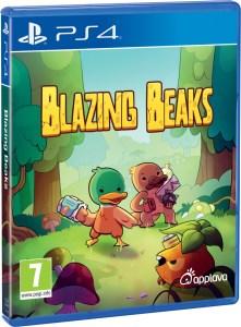 blazing beaks physical retail release applava playstation 4 cover www.limitedgamenews.com