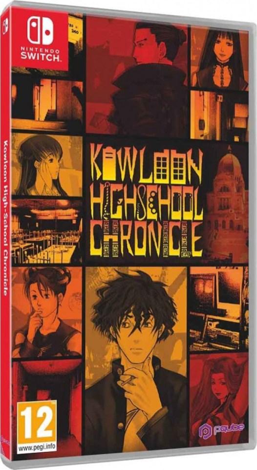 kowloon highschool chronicle physical retail release eur pqube nintendo switch cover www.limitedgamenews.com