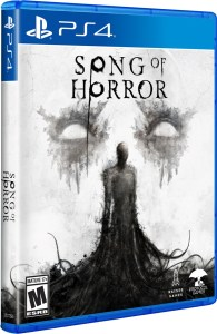 song of horror physical retail release raiser games playstation 4 cover www.limitedgamenews.com