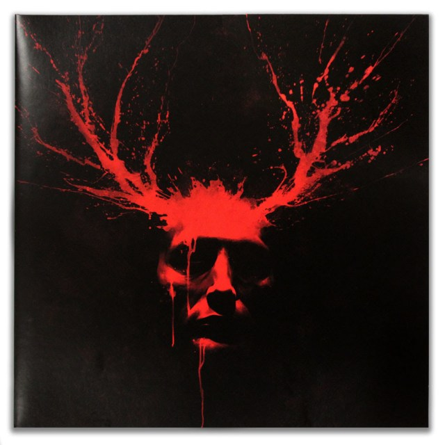 「ハンニバル」オリジナルテレビジョンサウンドトラック盤(2枚組) Hannibal Original Television Soundtrack 2XLP. 20 cues from the first two seasons curated by composer Brian Reitzell.  Artwork by Phantom City Creative.  180 Gram Steak Tartare Colored Vinyl. Limited to 1,000 copies.  US$30