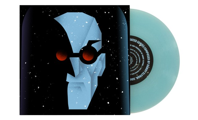Mr. Freeze Artwork by Alan Hynes Pressed on ice blue vinyl
