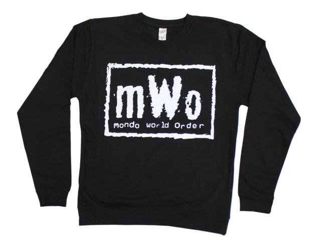 「mWo(mondo world order)トレーナー」 mWo Sweatshirt US$45