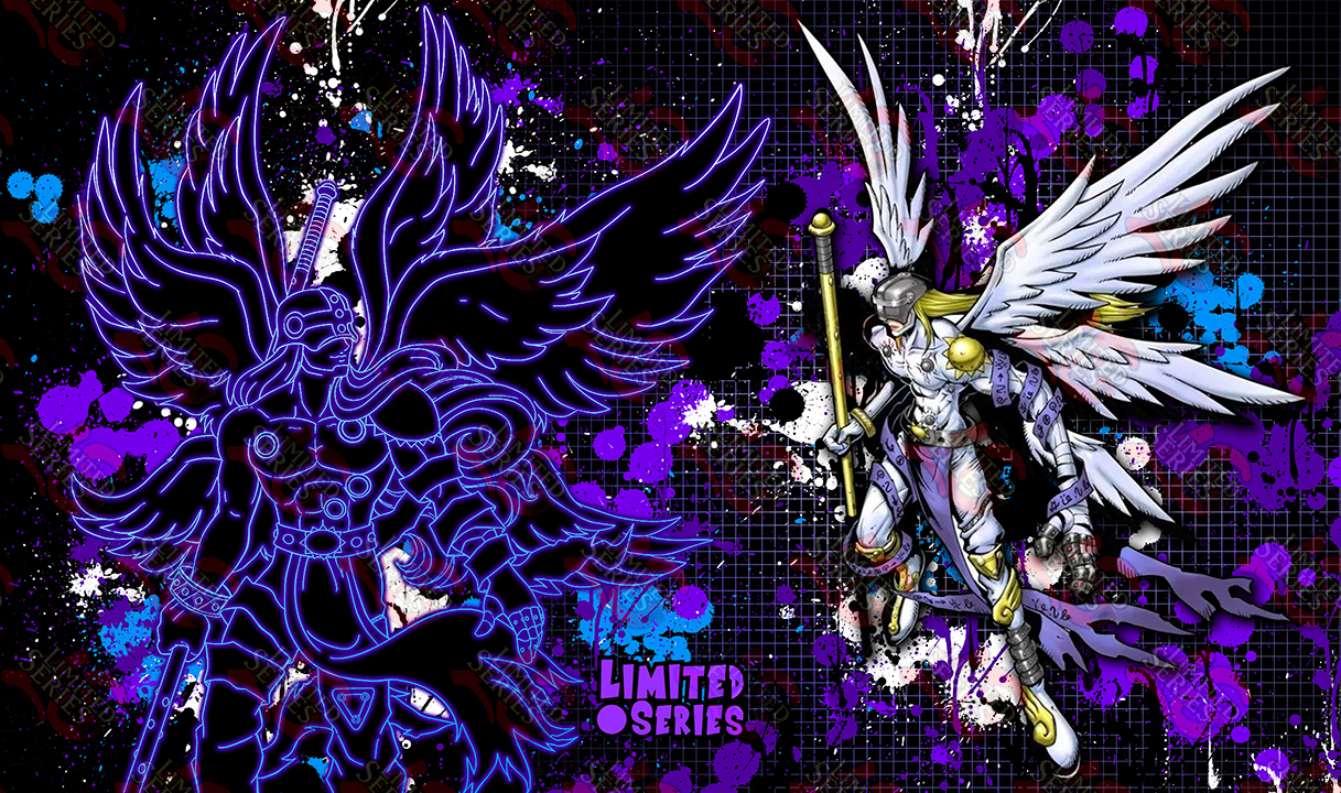 Angemon May 2020 Playmat Limited Series Custom It has six shining wings, and its body is clad in cloth so pure white as to be divine. angemon may 2020 playmat