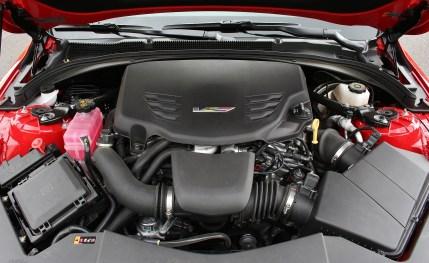 2016 Cadillac ATS-V Engine