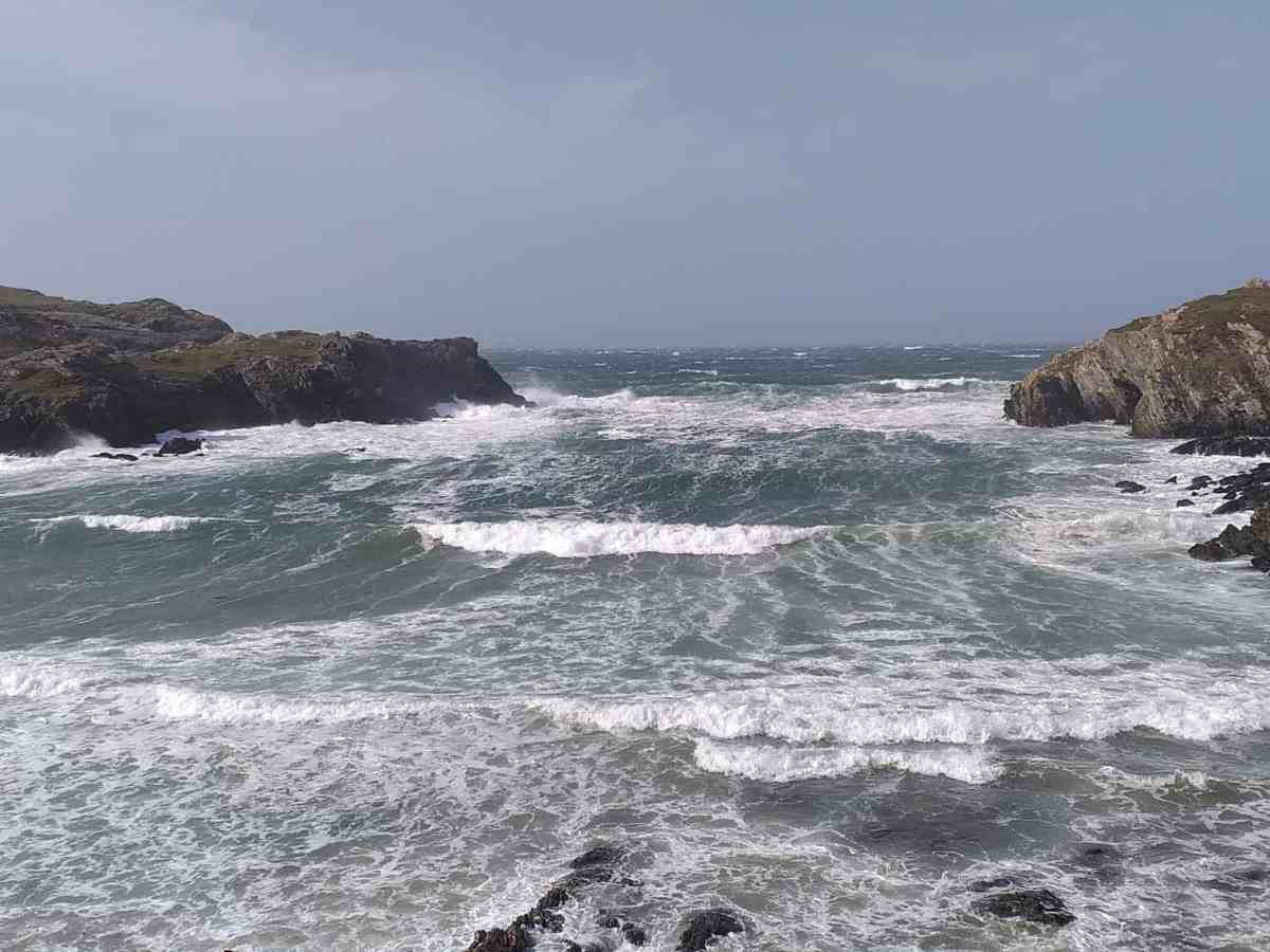 November Stormy Sea