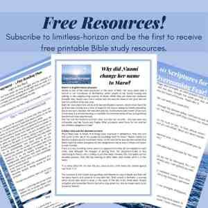 limitless-horizon Bible study notes