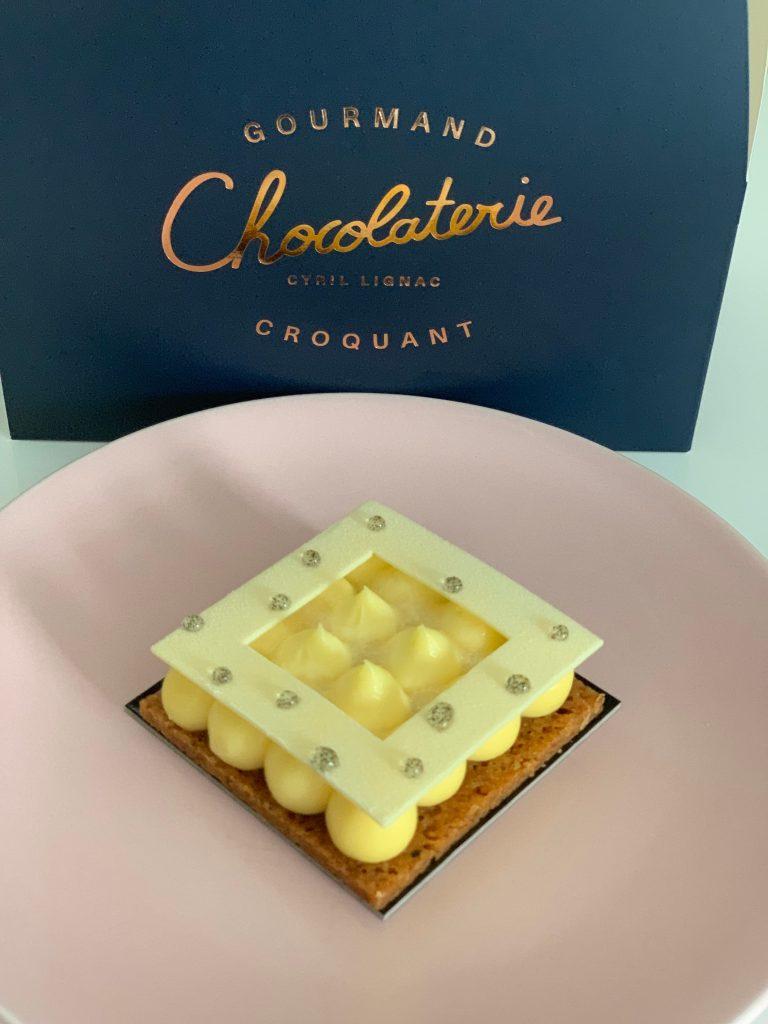 La Chocolaterie Cyril Lignac lemon pie