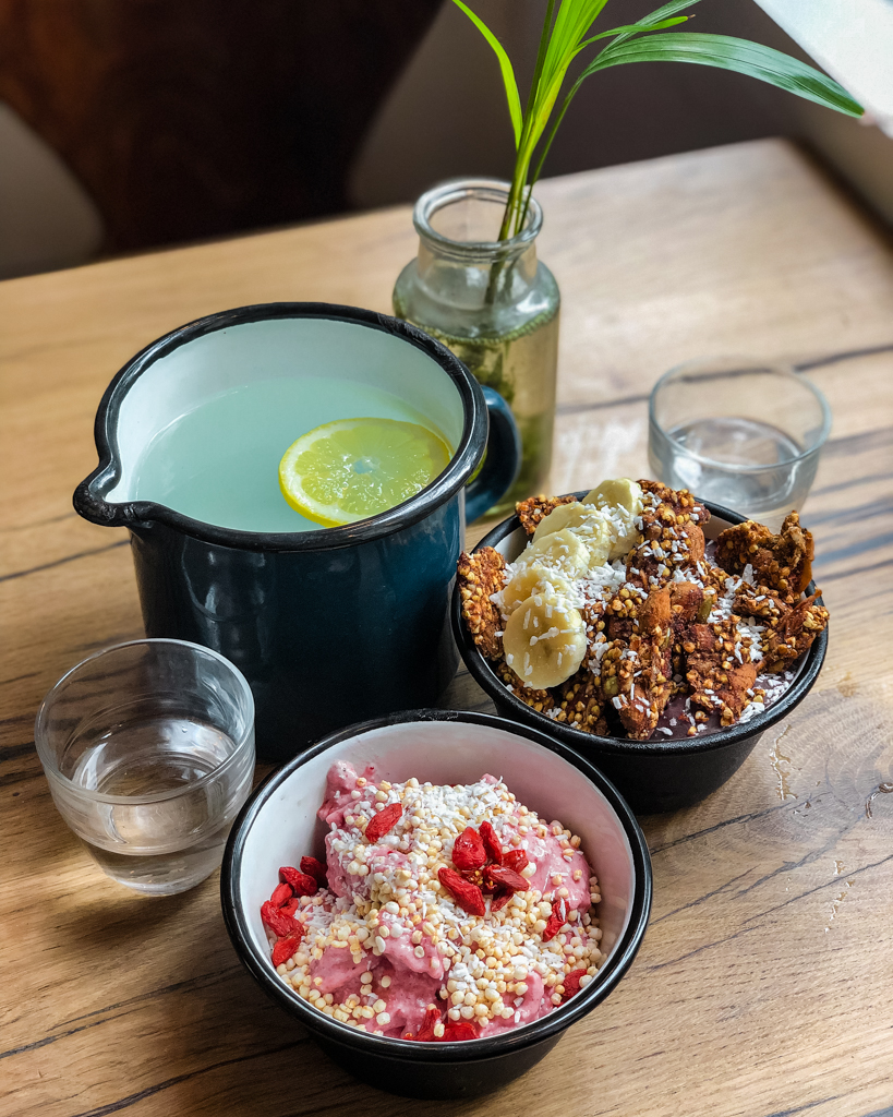 Smoothie bowls Wild and the Moon, Paris