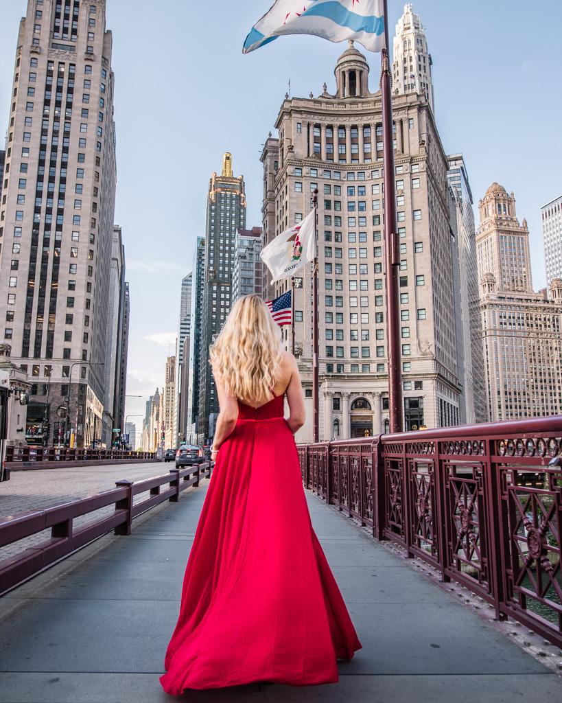 Du Sable Bridge in Chicago