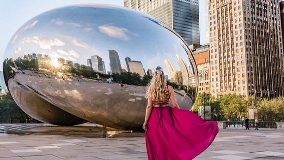 The bean Cloud Gate Chicago