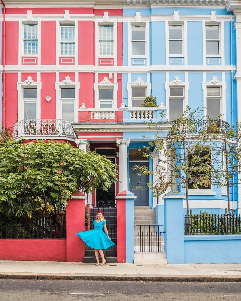 Notting Hill Houses in Colville Terrace - London