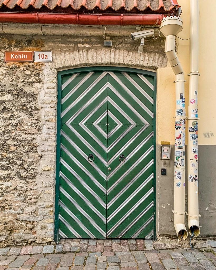 Kohtu 10a - Door of Tallinn, Estonia
