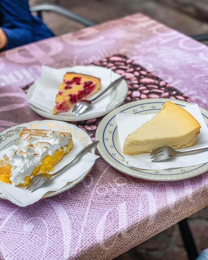 Desserts - Le croissant doré in Colmar - Alsace