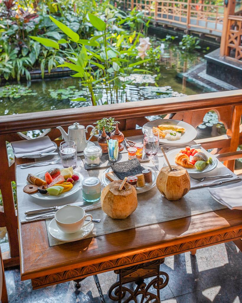 Belmond Governor's Residence, Breakfast - Yangon, Myanmar