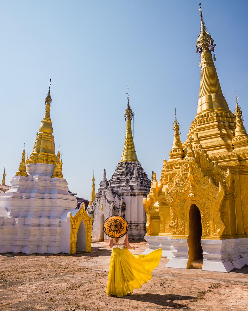 Aung Mingalar Pagoda - Inle Lake, Myanmar