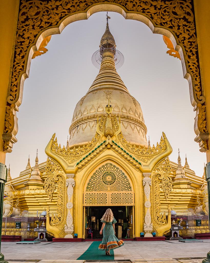 Maha Wizaya Pagoda - Yangon, Myanmar