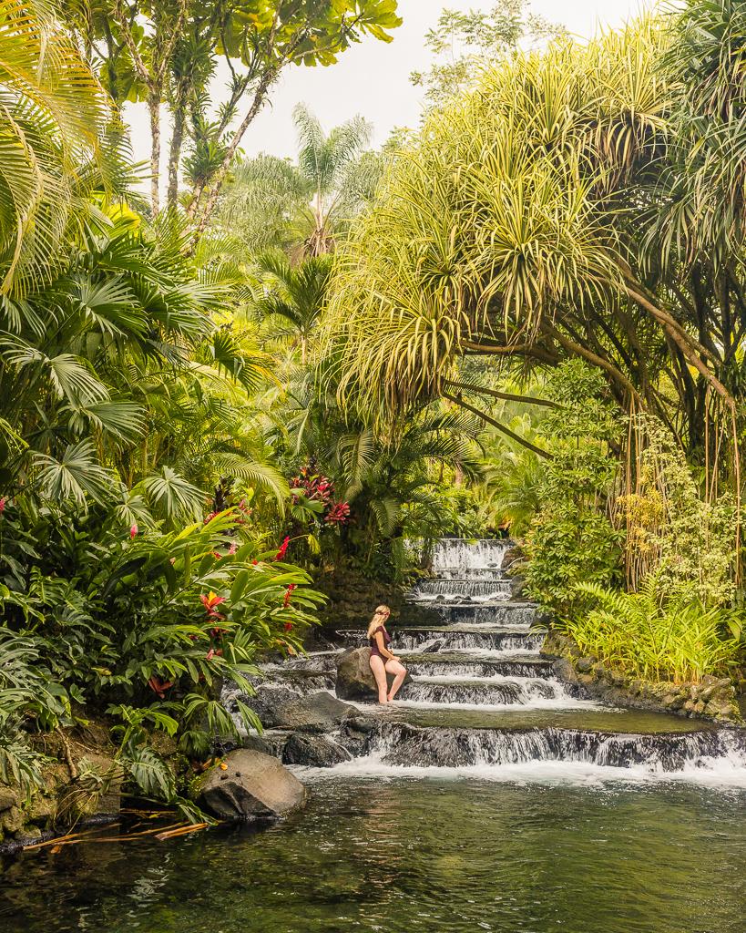 Tabacón Hot Springs in La Fortuna, Costa Rica
