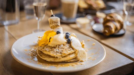 Breakfast at Dignita. Best breakfast and brunch in Amsterdam.