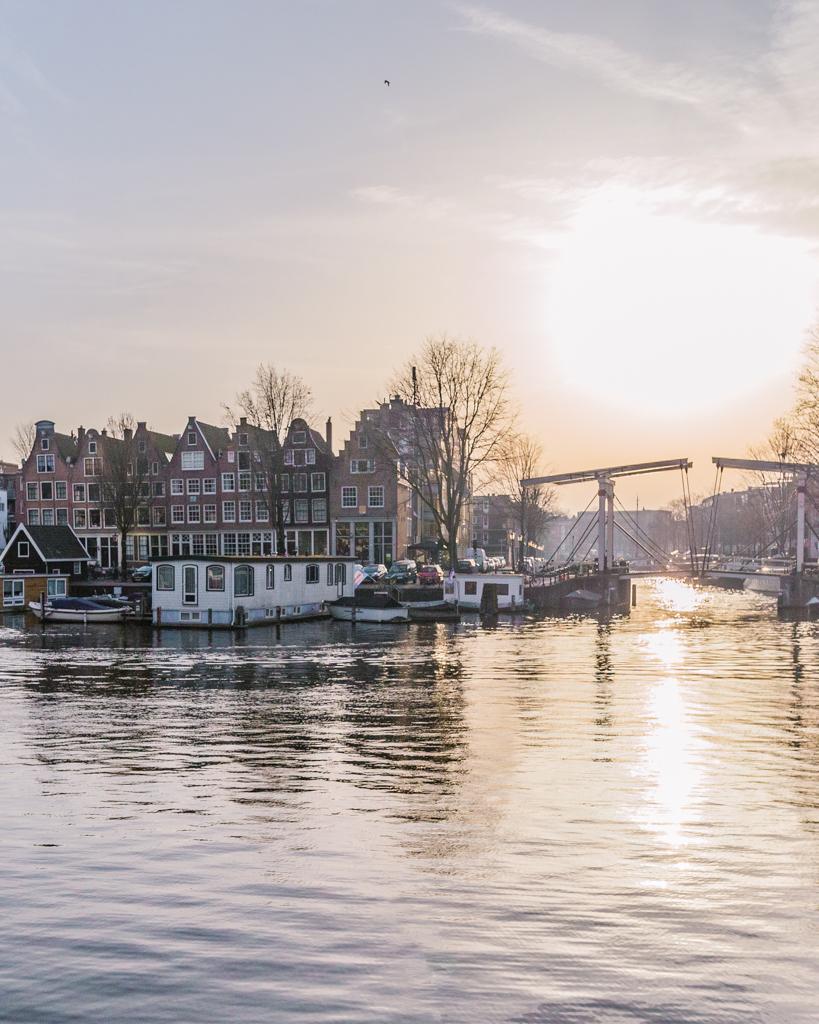 Westerdok in Amsterdam