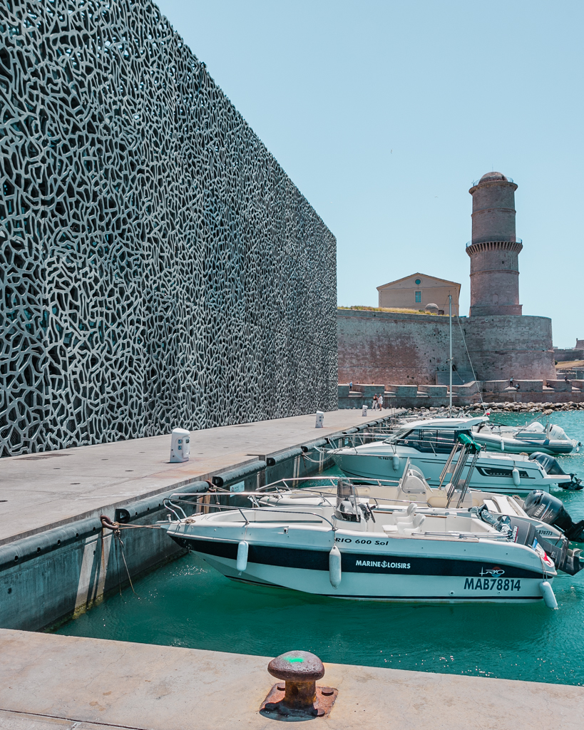 MuCem museum in Marseille - French Riviera