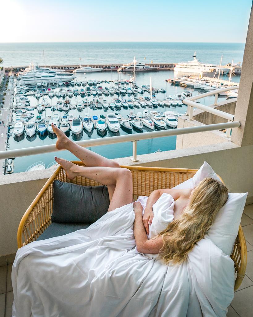View from Riviera Marriott Porte de Monaco - French Riviera