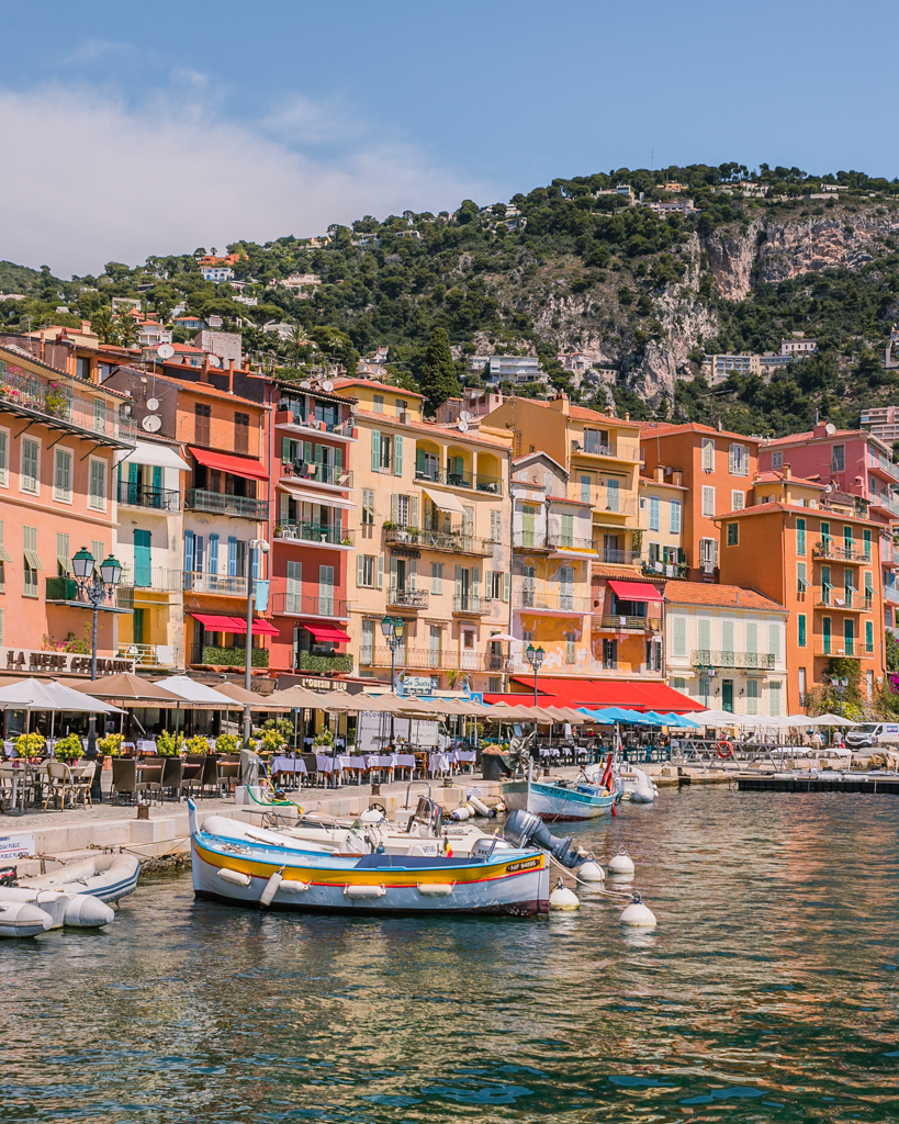 The harbor of Villefranche-sur-Mer - French Riviera