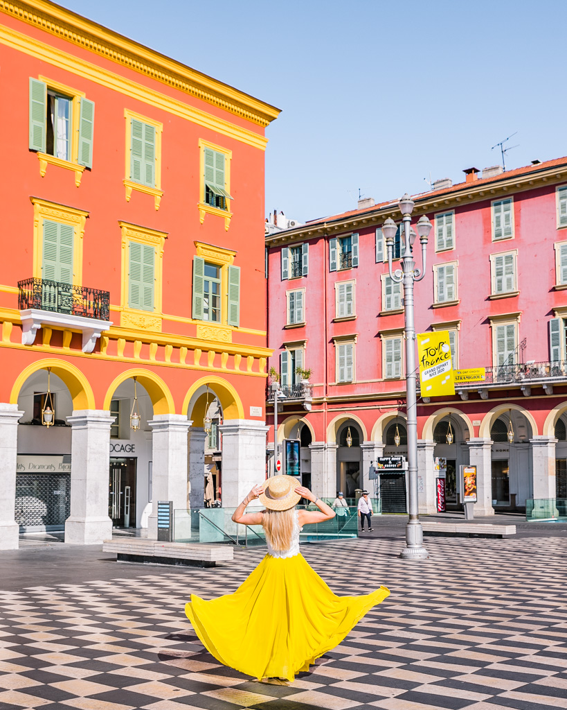 Place Masséna in Nice - French Riviera