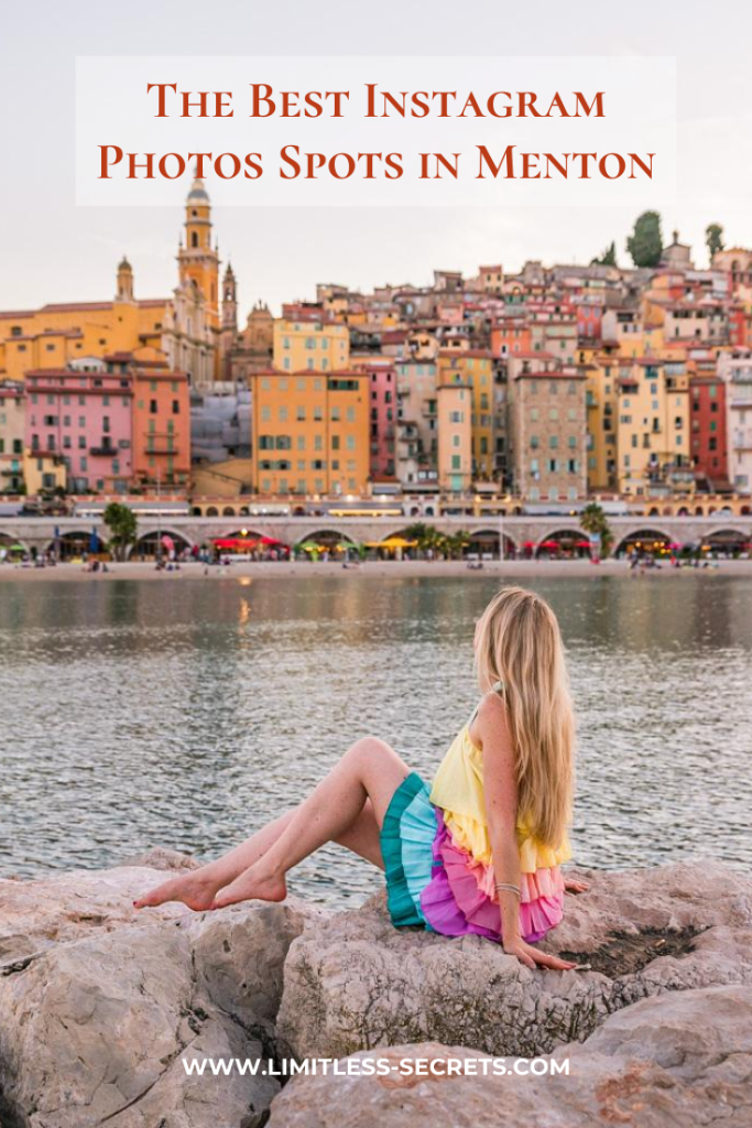 The Best Instagram Photos Spots in Menton - Menton is the cutest town in South of France located on the coastline of the Mediterranean Sea close to the Italian border. It's a must-see in the French Riviera! You will fall in love with every corner of this city! Here are the Best Instagram Photos Spots in Menton! #menton #frenchriviera #cotedazur #france | Most Instagrammable places in Menton | Menton photography | Menton travel guides | What to do in Menton | Best places to take photos in Menton | Instagram places in Menton