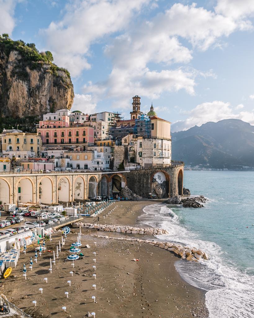 Beach of Atrani - Amalfi Coast