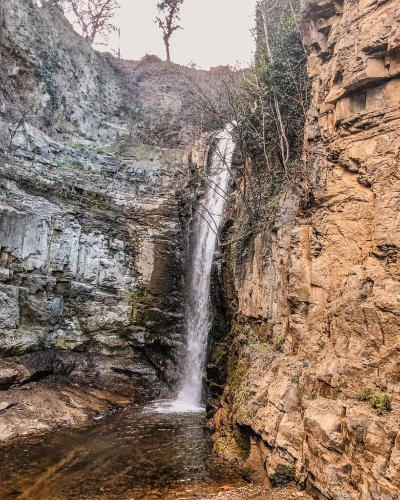 Leghvtakhevi Waterfall in Tbilisi - Georgia