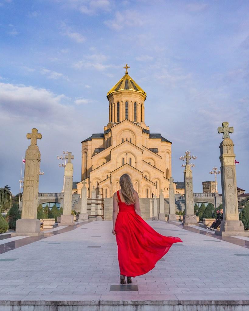 Sameba Cathedral - Holy Trinity Cathedral of Tbilisi - Georgia