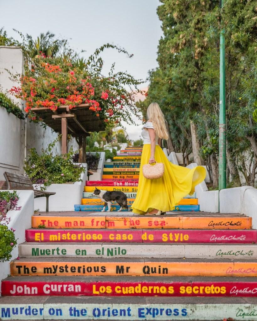 Agatha Christie Stairs in Puerto de la Cruz, Tenerife - Canary Islands
