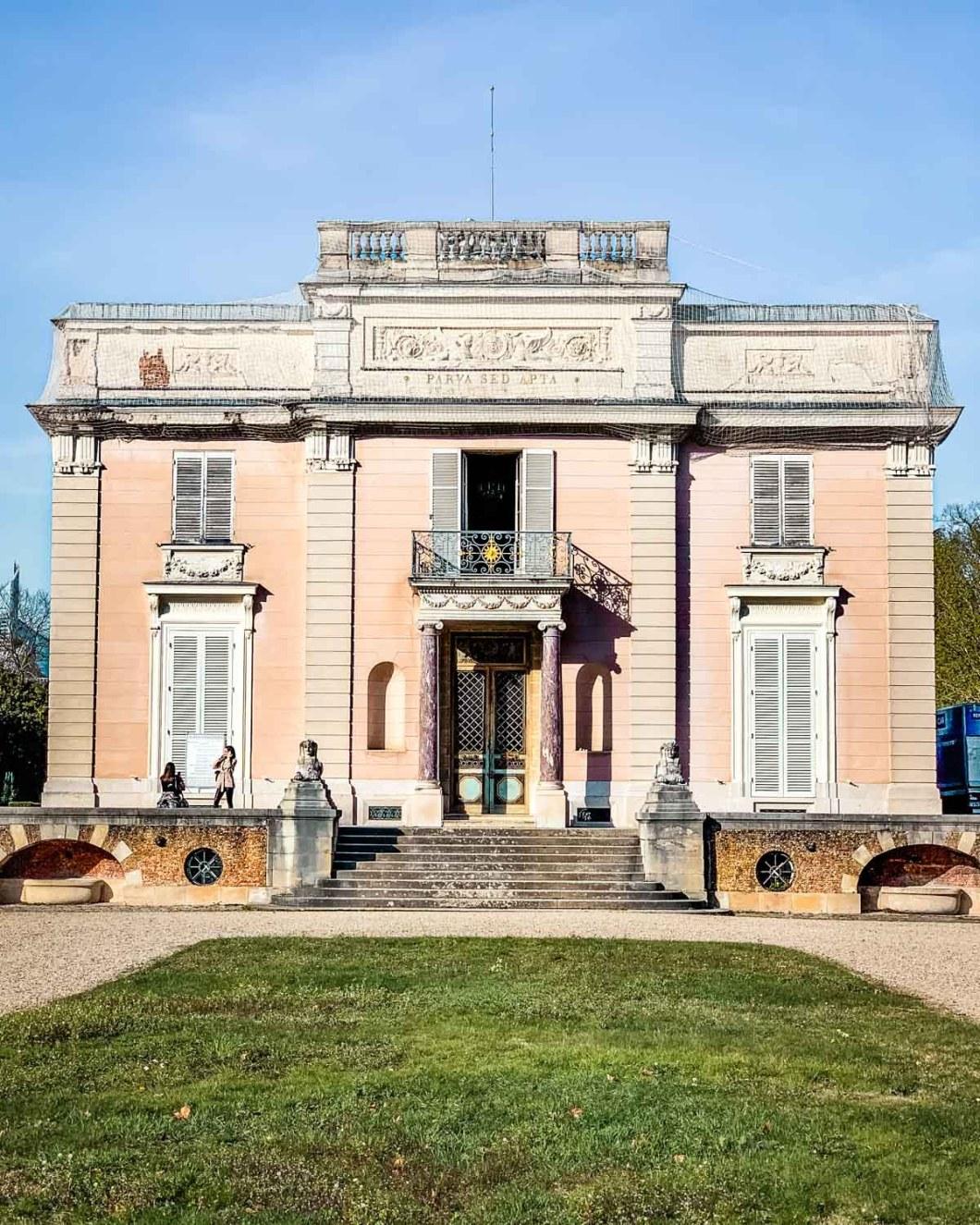 Château de Bagatelle inside the Parc de Bagatelle - Paris