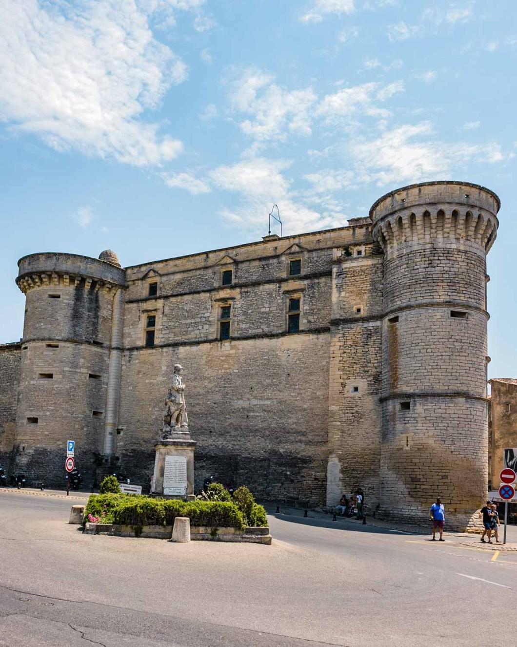 Château de Gordes (Gordes Castle) in Provence