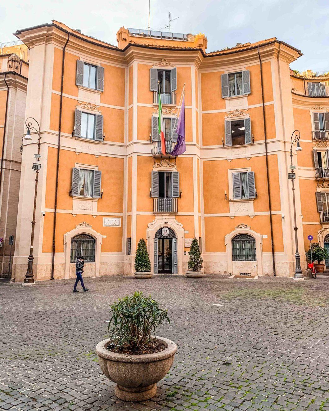 Piazza di Sant'Ignazio in Rome