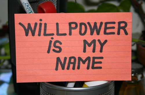 Willpower: Get some!