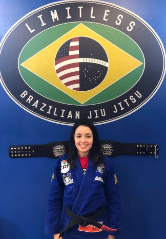 Thamires Aquino - Limitless BJJ Instructor - Cincinnati BJJ Black Belt