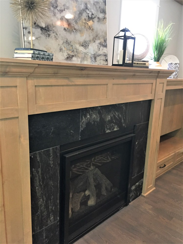 Picture of fireplace