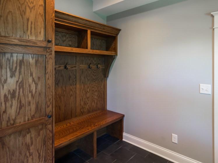 Mudroom storage bench