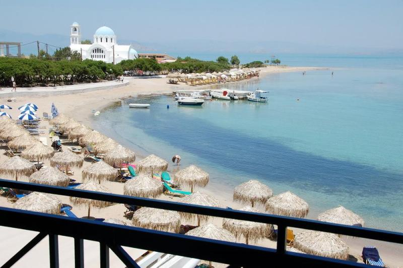 Skala beach, Agistri