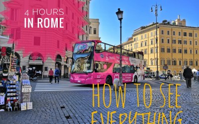 4 HOURS IN ROME: HOW TO SEE EVERYTHING