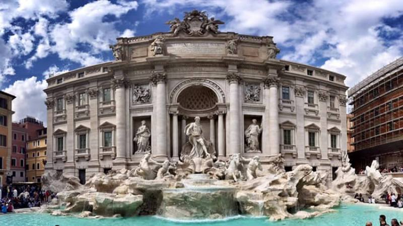 Luxe Adventure Traveler Rome Italy Trevi Fountain 1 - 4 HOURS IN ROME: HOW TO SEE EVERYTHING