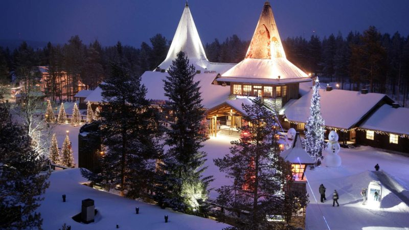 santa claus village arctic circle rovaniemi%C2%A9visitrovaniemi.fi  800x450 - TOP 11 European Destinations for Christmas City Breaks